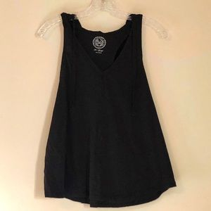Hooded Black So Racerback Tank Top